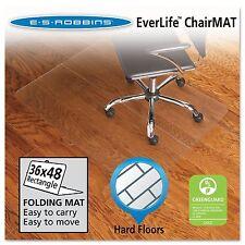 ES Robbins Foldable Hard Floor Series Chairmat  48 x 36