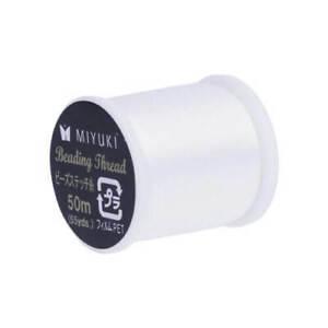 Miyuki Beading Thread White 330dTex (NYMO Size B) 50 m Spool