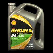 Shell Rimula R6 LME 5W-30 4L - Acea E6,E7, Cumming, Man, MB, Volvo, Deutz, Mack