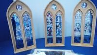 1/35 Scale Diorama Accessories   Church Windows Pack Plus stained-glass