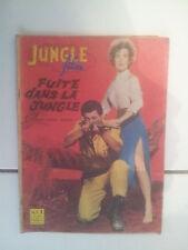 JUNGLE FILM 12 (1961) Fuite dans la jungle avec georges Reeves photo roman