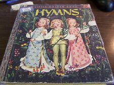 "A LITTLE GOLDEN BOOK - HYMNS -  392 - ""I"" EDITION  - VERY GOOD"