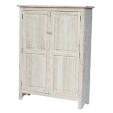 """Whitewood Double jelly cupboard - 51"""" H Cu-167 Cupboard New"""