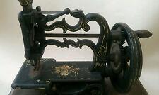 """Antico 1867 Charles Raymond il """"GLOBE"""" CHAIN STITCH macchina da cucire"""