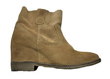 Report Signature Ankle Boots Sz 7 Brown Suede