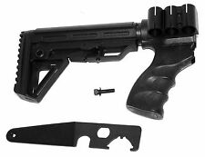Remington 870 12 Gauge parts Shotgun stock Stock with Shell Carrier Kit hunting.