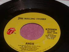 THE ROLLING STONES Angie 45 Rolling Stones Rec. RS-19105 1973 VG+ # 0063