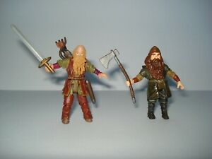 Chronicles of Narnia Prince Caspian Trumpkin & Grumpkin Dwarf Figures Disney EXC