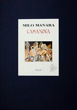 MANARA PORTFOLIO CASANOVA NUMERATO NON FIRMATO