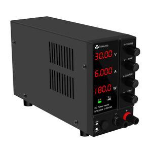 220V 6A Digital Labornetzgerät Labornetzteil Netzgerät Regelbar DC Stabilisiert