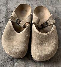 Birkenstock Suede Mules Sandals Flats Comfort Shoes 42 L11 M9