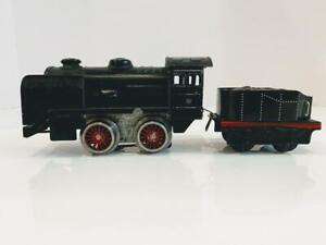 Karl Bub KBN Germany Vtg Electric Model Train Locomotive, Tender O Scale Rare 2p