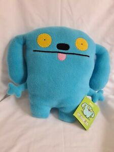Ugly Doll Ket 2009 Blue New with Original Information Tag