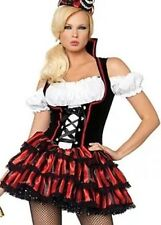 Leg Avenue Womens Shipwreck Pirate Wench Captain Hook Sexy Costume 83607 Large