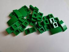 Lego Green Slope Curved 1x2, Part 11477, Element 6047426, Qty:25 - New