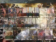 Final Fantasy TCG Opus 7 VII Non-Foil Complete Set Starters Serah Yuna Chelinka