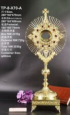 Rare Fine Monstrance Zircon Decorated with Tabor Pedestal TP-8-X70-A