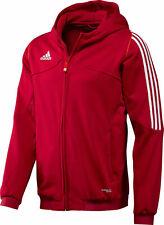 adidas T12 Hoodie Youth Kinder Jungen Mädchen Rot X34272 Kapuzenjacke Gr. 152