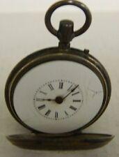 **  Antique Perret Geneve Sterling Silver Pocket Watch 14387  **