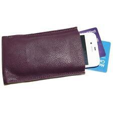 Orbyx Cuero Estilo púrpura Bolsa Funda Protectora Samsung S3 S4 S5 Htc One Iphone Nuevo