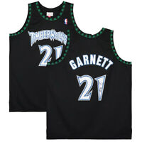 KEVIN GARNETT Autographed Minnesota Timberwolves Black Jersey FANATICS