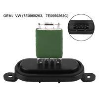 Heater Blower Resistor Fan Motor Resistance For VW T5 Transporter Multivan T5