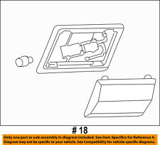 FORD OEM 04-11 Ranger Interior-Dome Light 4L5Z13776AA