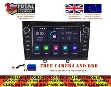 DVD GPS NAVI ANDROID 9.0 4GB 8CORE DAB CARPLAY WIFI PEUGEOT 408 308 RCZ RV5634 B