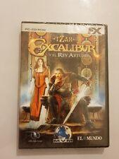 TZAR+EXCALIBUR Y EL REY ARTURO  Pc/Ordenador version Española NUEVO