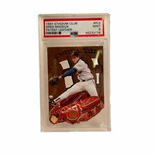 1997 Topps Stadium Club Patent Leather Insert Greg Maddux Atlanta Braves PSA 9