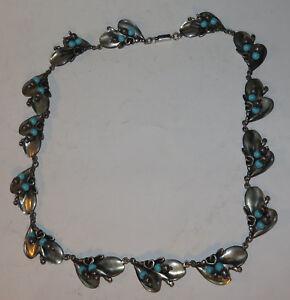 7571:Silberkette,Indianisch?,aus 925er Silber,14 Glieder,ähnlich Federn,verziert