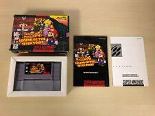 Super Mario RPG Legend of Seven Stars Complete Super Nintendo CIB SNES