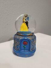Disney Beauty and the Beast Snowglobe Dancing Small EUC RARE