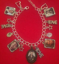 Colin O'Donoghue (Plays Captain Hook in Once Upon a Time) Charm Bracelet