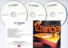 "12"" DANCE UK promo test 3-CD Chic Blondie New Order Soul II Soul Seal Jamiroquai"