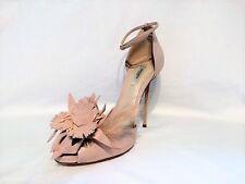NEW Olgana Paris Womens ART. L'Impertinente Nappa Pink Leather Sandals, Sz 9