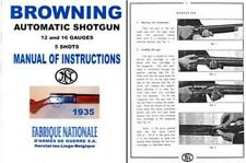 Browning 1935 FN Automatic Shotgun (A-5) Manual