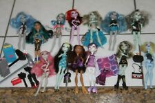 Monster High Mattel Doll Lot 13 dolls with many accessories