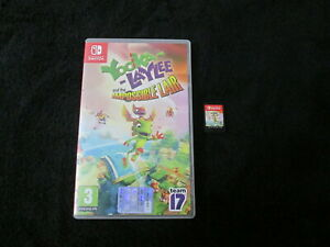 SWITCH : YOOKA-LAYLEE AND THE IMPOSSIBLE LAIR - Completo ! CONSEGNA IN 24/48H !