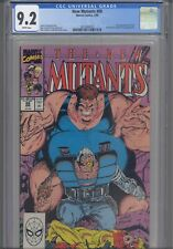 The New Mutants #88 CGC 9.2 1983 Marvel 2nd App Cable X-Factor Freedom Force App