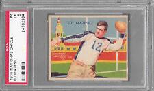 1935 National Chicle #4 ED MATESIC Eagles PSA 5 EX