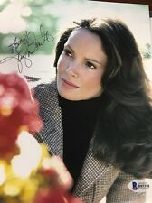 JACLYN SMITH SIGNED AUTOGRAPHED 8X10 PHOTO CHARLIES ANGELS SEXY BAS BECKETT D