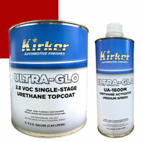 0.75 Gallon Kirker Ultra-Glo Urethane Paint Viper Red UA-51439 w/ Med Activator