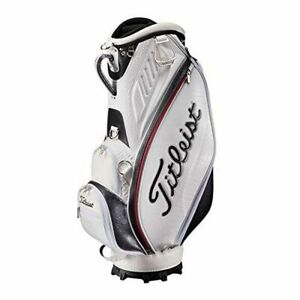 Titleist Staff Cart Caddy Golf Bag, CB914 JP, in white, NEW