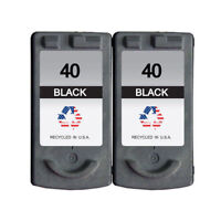 2 PK for Canon PG-40 Ink Cartridges FAX JX200 PIXMA iP1600 MP140 MX310 MP450