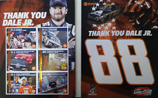 "2017 DALE EARNHARDT JR ""THANK YOU DALE JR BRISTOL DATED 8/19"" NASCAR POSTCARD"