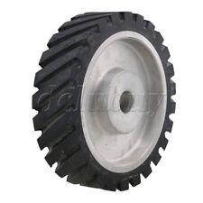 200 x 50mm Rubber Serrated Belt Grinder Wheel for Bearings Belt Grinde