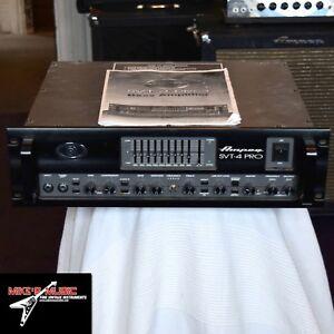 Ampeg SVT-4 Pro Bass Amplifier Head