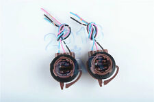 2x 3157B 4157NA Bulb Socket Turn Wire Signal Light Wire Harness Plug Connectors