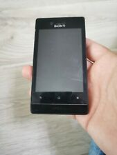 Good Condition Sony Xperia Miro ST23i Black Unlocked Smartphone